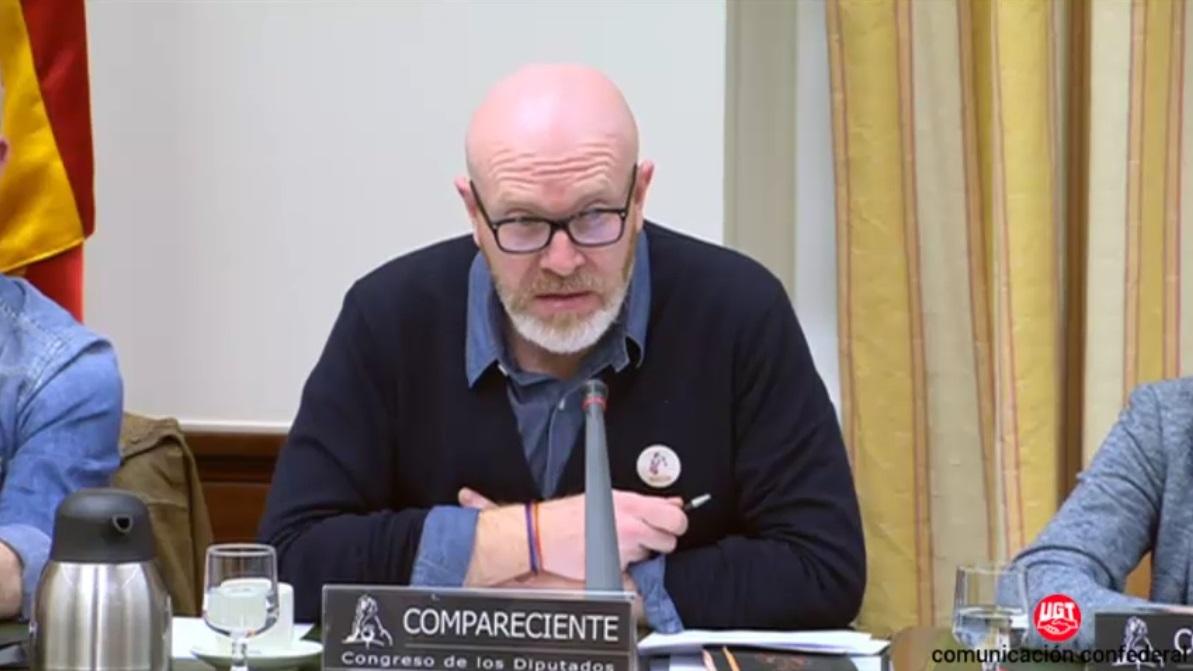 El Presidente de ISCOD en el Congreso de los diputados.